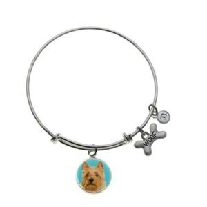 B. Berish Australian Terrier Silver Bangle